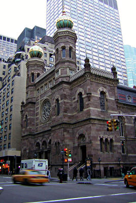 Central Synogogue, NYC