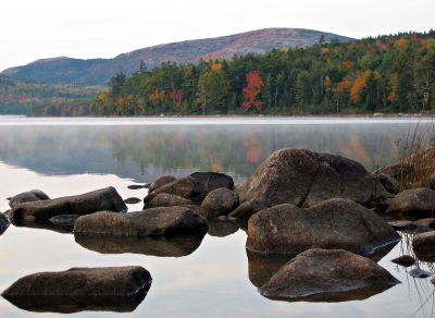 Acadia, Maine in Fall