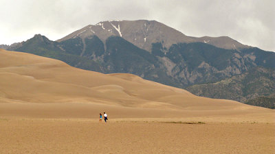 photo of the Great Sand Dunes National Park in Colorado
