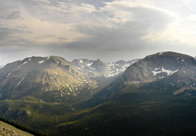 Colorado photo: Rocky Mountains National Park Landscape