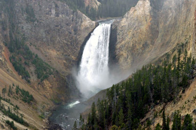 Yellowstone, Lower Falls picture