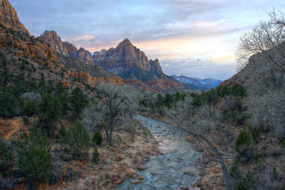 Photo of Zion National Park in Utah, USA