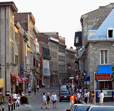 Montreal Place Jaques Cartier