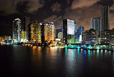 Photo of Miami, Florida at night