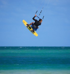 Photo of Kiteboarding in Miami, Florida