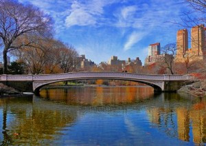 Boating Lake in Central Park