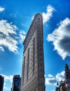 Front shot of New York's Flatiron Building