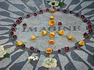 Strawberry Fields Memorial in Central Park