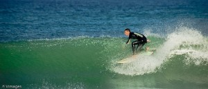Photo of guy surfing at Miami Beach