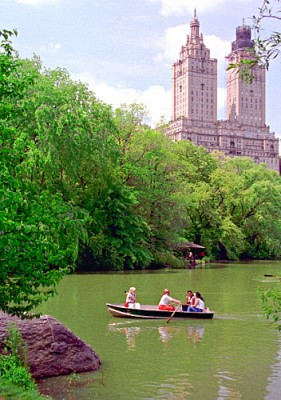 Boating in Central Park