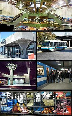 Photo of Montreal's Metro Stations, Canada