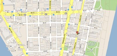 Miami webcams maps and other free visitor resources Jazz Hostels