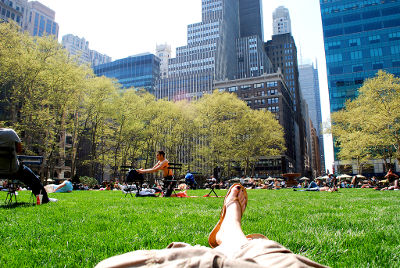Photo of Bryant Park in New York City