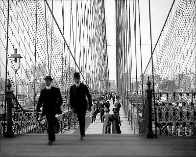 Photo of the Brooklyn Bridge in New York City