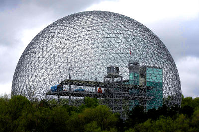Photo of Montreal's Biosphere