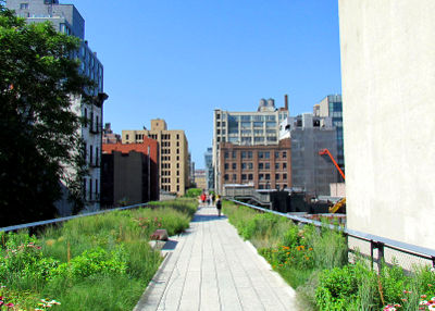 Photo of the Highline in New York City