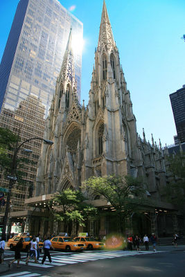 Photo of St Patrick's Cathedral in New York City