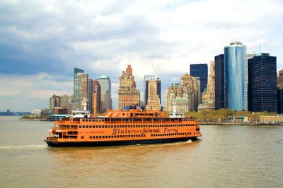 Photo of the Staten Island Ferry in New York City