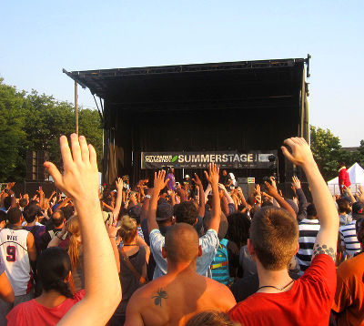 Photo of Summerstage in New York City