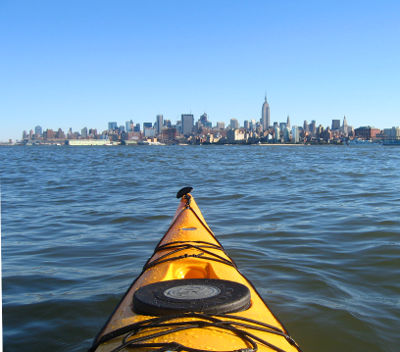 Photo of kayaking in New York City