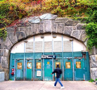 Photo of 190th Street Subway Station in New York City