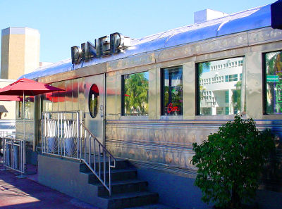 Photo of the 11th Street Diner in Miami Beach, Florida