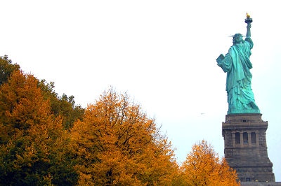 Photo of The Statue of Libery in New York City