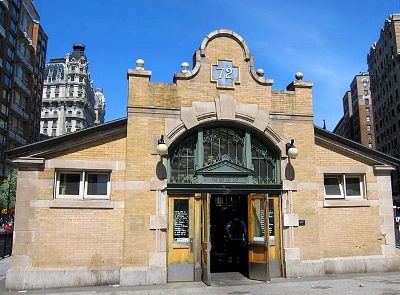 Photo of the 72nd Street Subway Station in New York City