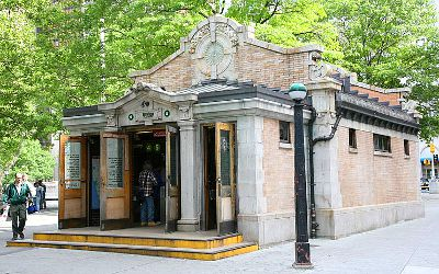 Photo of the Bowling Green Subway Station in New York City