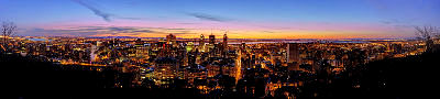Photo of sunrise in Montreal, Canada