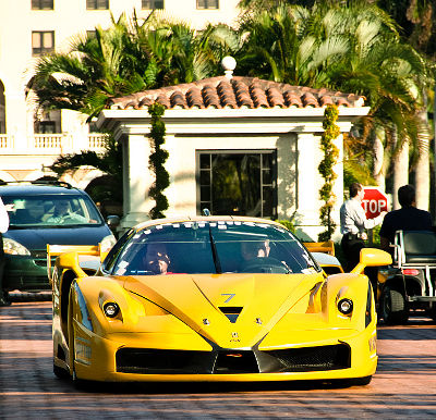 Photo of a Ferrari FXX in Miami Beach, Florida