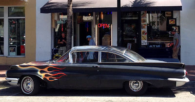 Photo of a classic Buick in Miami Beach, Florida