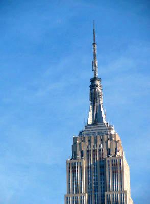 Photo of the Empire State Building in New York City
