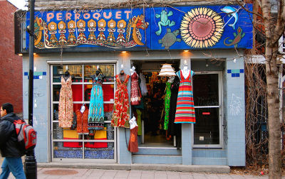 Photo of a boutique in The Plateau, Montreal