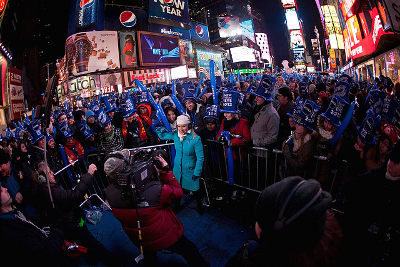 Photo of New Year's Eve in Times Square, New York City