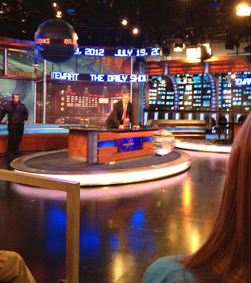 Photo of The Daily Show with Jon Stewart in New York City