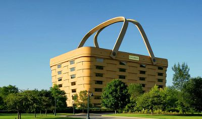 Photo of the Longaberger Building in Ohio, USA