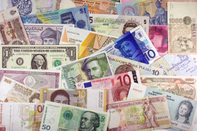 Photo of international currency