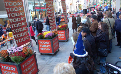 Photo of The Today Show in New York City