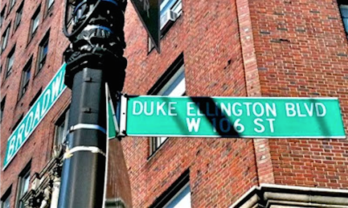 Duke Ellington Boulevard, New York City